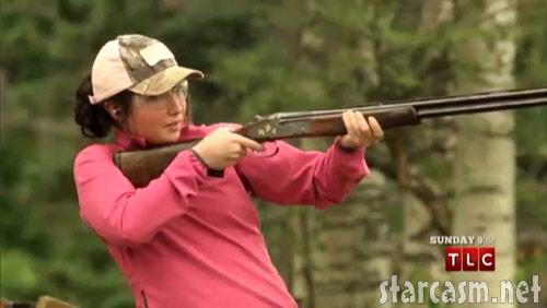 Bristol Palin skeet shooting on Sarah Palin's Alaska