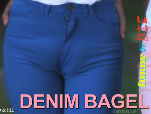 Denim Bagel camel toe from Camel Shows by Kelly Brook