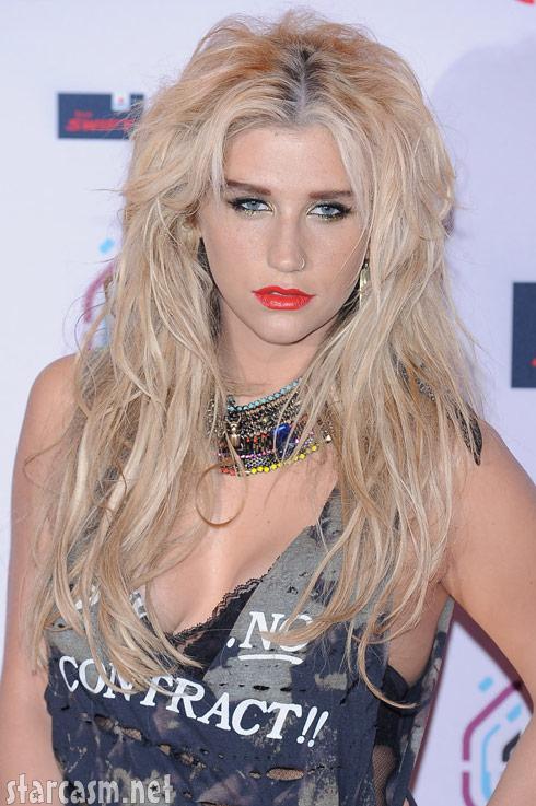 Ke$ha 2010 EMAs MTV in Madrid