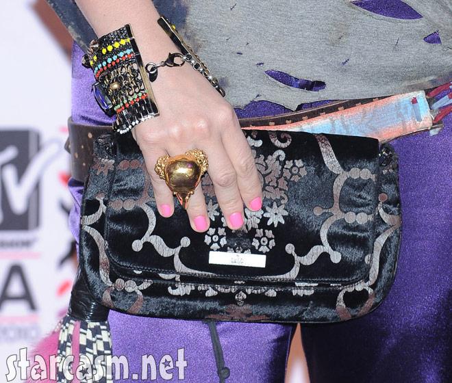 Ke$ha jewelry and purse