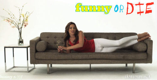 Kelly Brook Camel Shows commercial for Funny Or Die