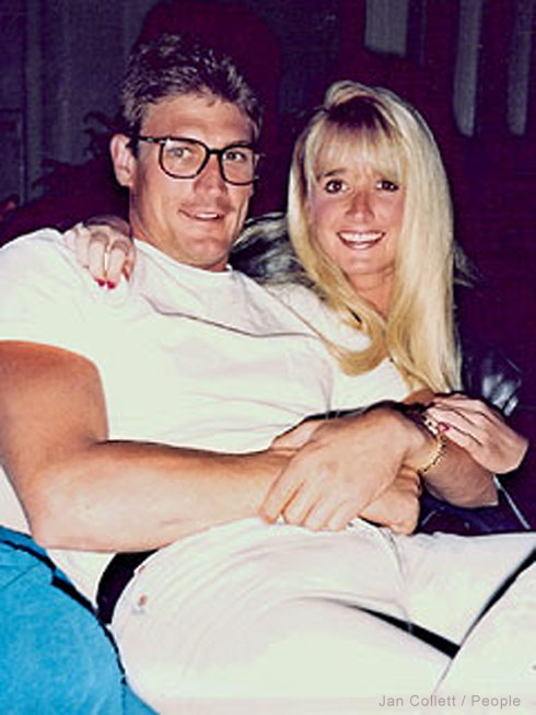 Kim Richards and ex John J. Collett who was murdered in 1991