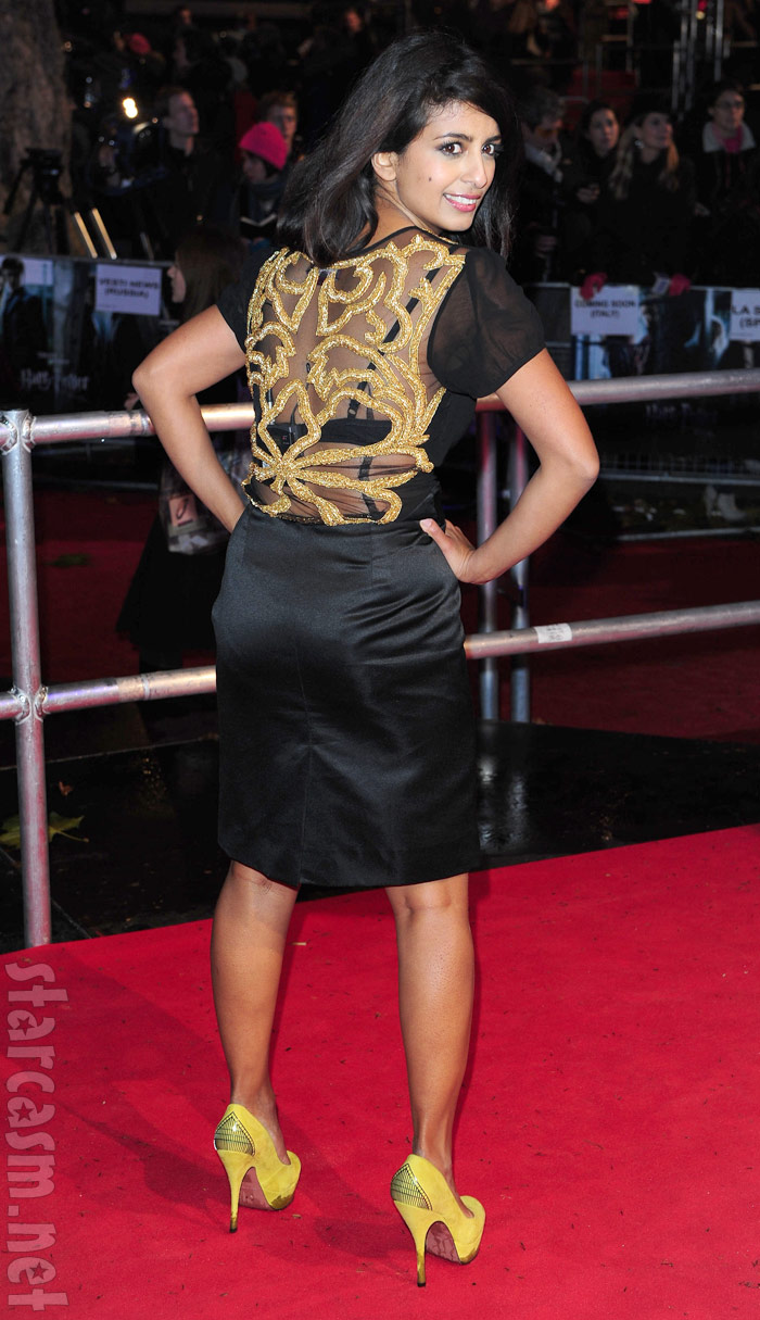 Konnie Huq at the Harry Potter and the Deathly Hallows premiere