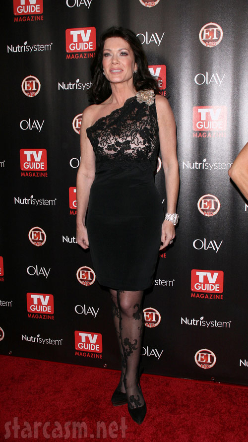 Lisa Vanderpump at the 2010 TV Guide Hot List party