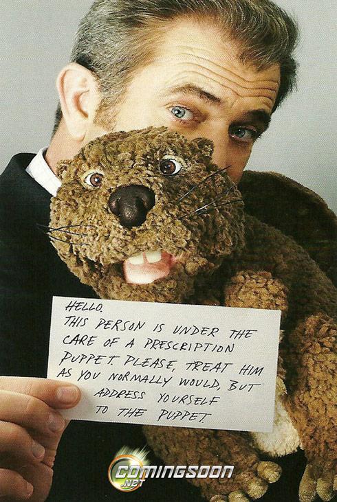 Mel Gibson The Beaver movie poster