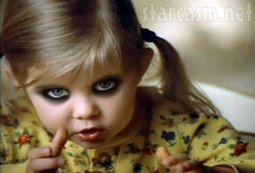Taylor Momsen as a 4-year-old child actor