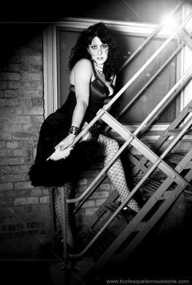 American Pickers Danielle Cushman's burlesque alter ego Dannie Diesel
