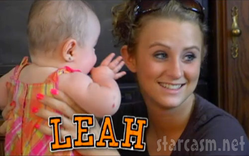 Leah Messer from Teen Mom 2 on MTV