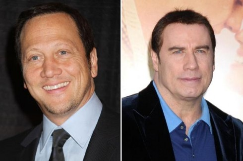 Rob Schneider and John Travolta