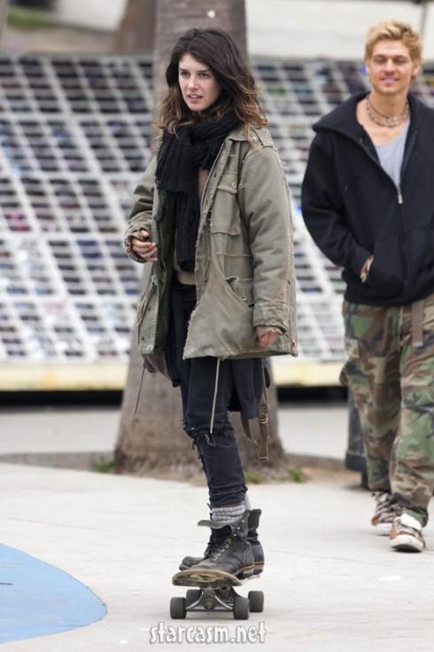Homeless Shenae Grimes