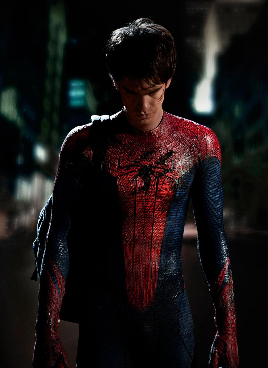 High resolution photo of Andrew Garfield as Spideriman from Columbia Pictures