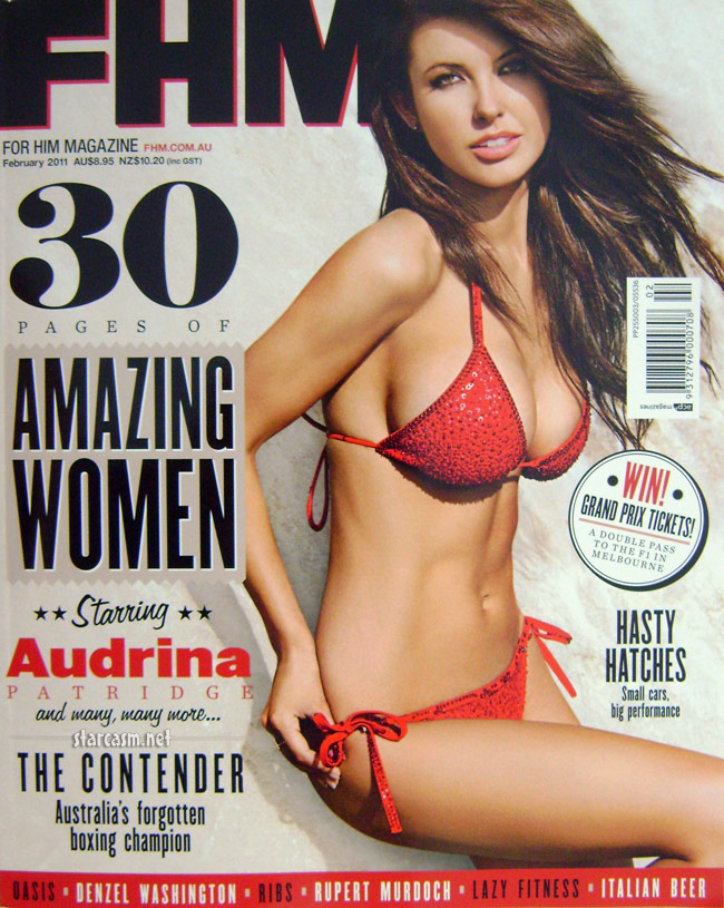 Audrina Patridge covers FHM Australia