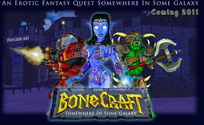 Adult version of Worlds of Warcraft BoneCraft