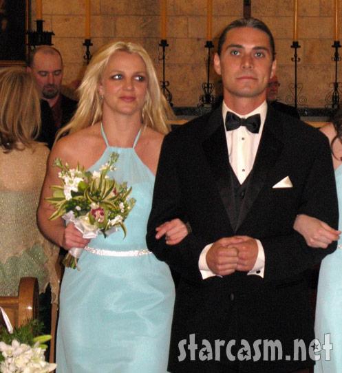 Britney Spears bridesmaid dress