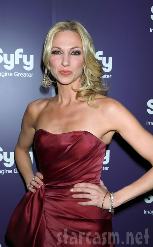 Debbie Gibson attends the World Premiere of Mega Python vs. Gatoroid