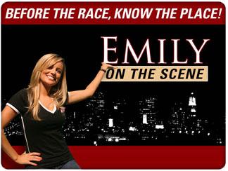 Promo image for Emily On The Scene hosted by Emilt Maynard