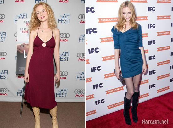 Heather Graham skinny comparison