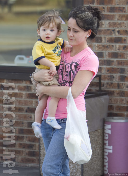 Teen Mom 2 Jenelle Evans and her son Jace