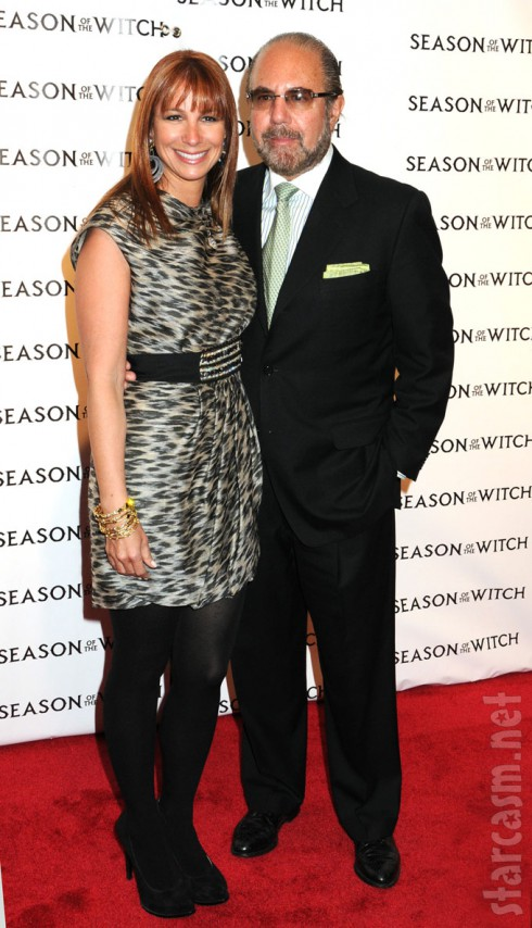 RHONY's Jill Zarin and Bobby Zarin at the Season of the Witch premiere