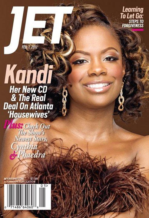 Kandi Burress Jet cover February 7 2011