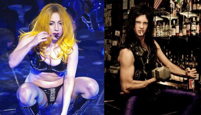 Lady Gaga and Luc Carl