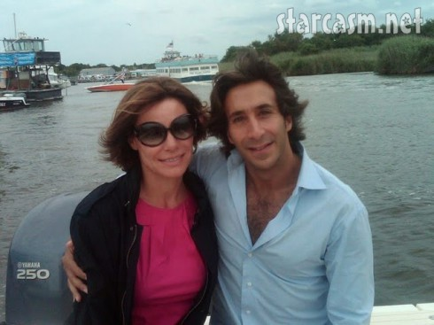 Real Housewives of New York City's LuAnn de LEsseps and boyfriend Jacques Azoulay