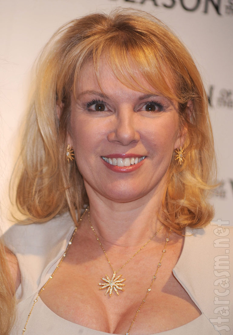 Ramona Singer shows off her True Faith Jewelry Sunburst pendant