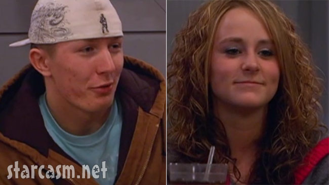 Leah Messer and ex Robbie Kidd