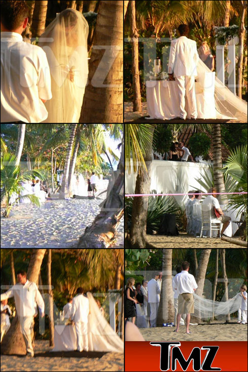 Pictures from Shania Twain and Frederic Thiebaud's secret wedding in Puerto Rico
