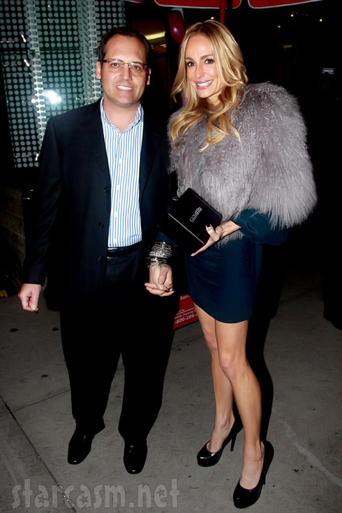 Russell Armstrong with sife Taylor Armstrong of the Real Housewives of Beverly Hills