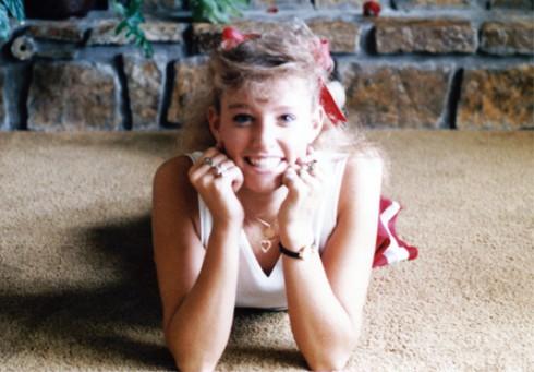 Taylor Armstrong in high school as Shana Hughes