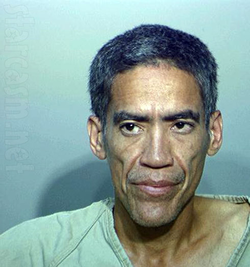 Golden Voice Ted Williams mugshot with short hair
