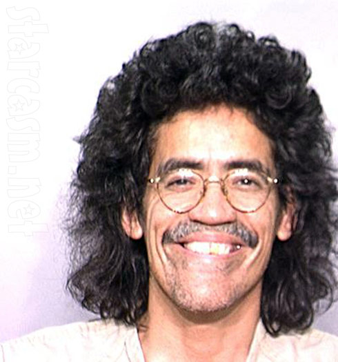 Ted Williams mug shot looking like Geraldo Rivera