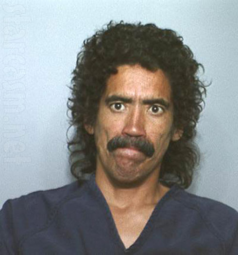 Homeless man with the golden voice Ted Williams mug shot