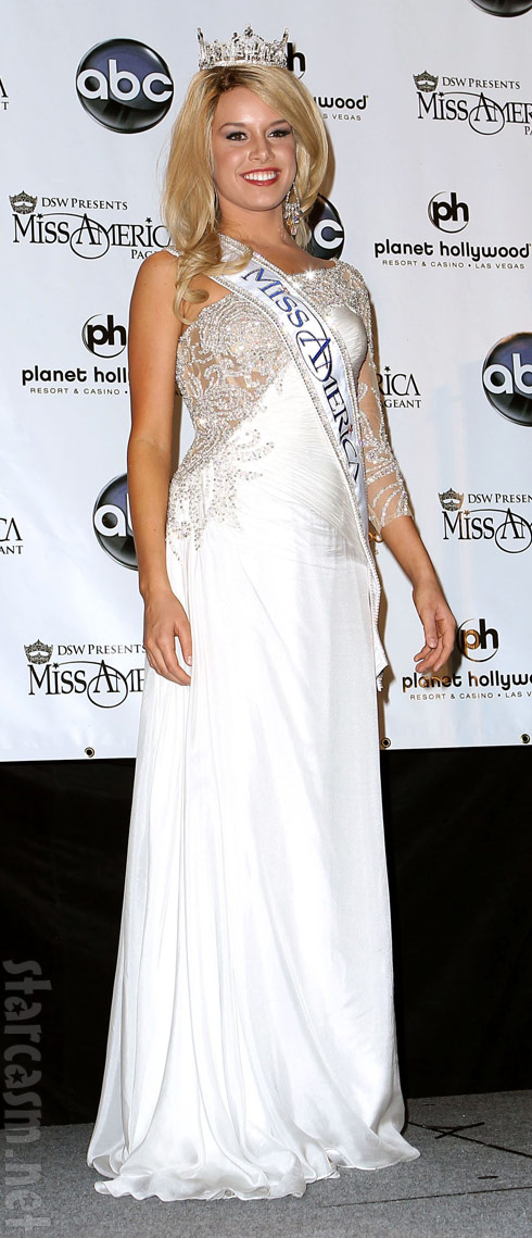 2011 Miss America Teresa Scanlan