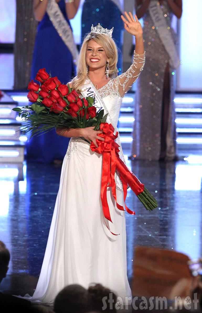 Miss Nebraska Teresa Scanlan crowned 2011 Miss America