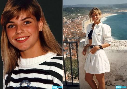 Alexia Echevarria in her teens