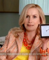Angela Kinsey from The Office as Gigi for Nice N Easy