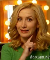 Angela Kinsey in an advertisement for Clairol