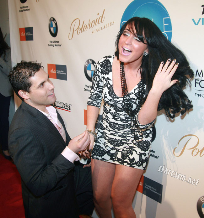David Kovacs surprise proposal to Jersey Shore's Angelina Pivarnick in February 2011