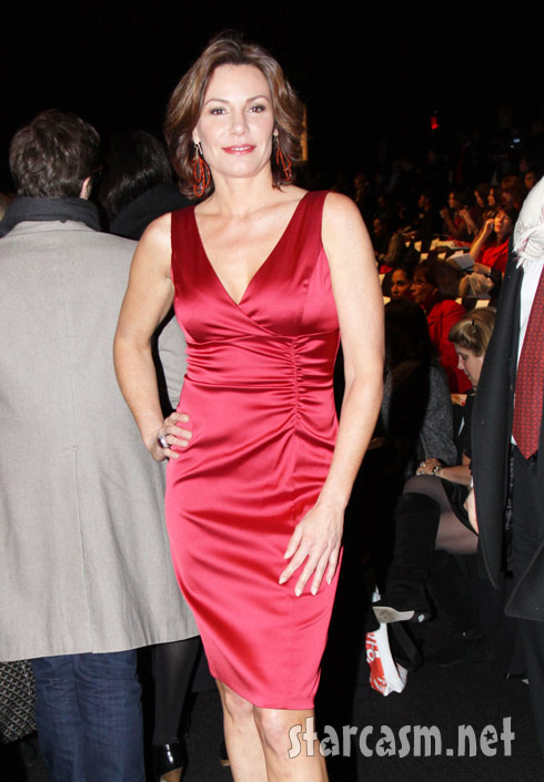 RHoNY Countess LuAnn de Lesseps at New York Fashion Week 2011
