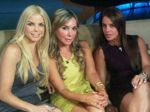 Real Housewives of Miami Alexia Echevarria, Marysol Patton, Cristy Rice