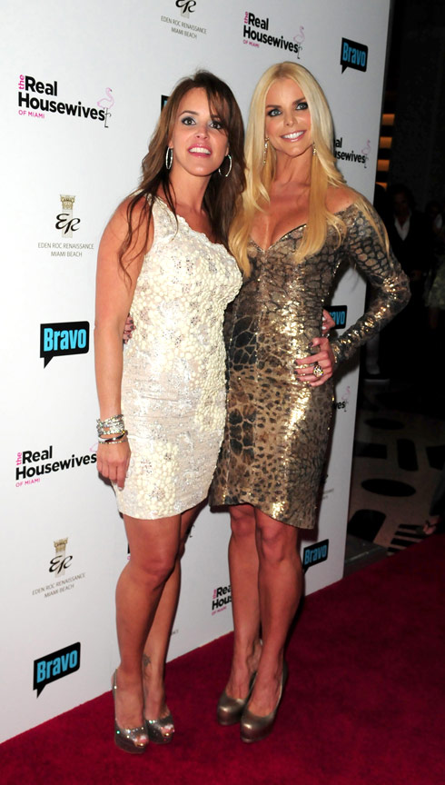 Cristy Rice and Alexia Echevarria of The Real housewives of Miami