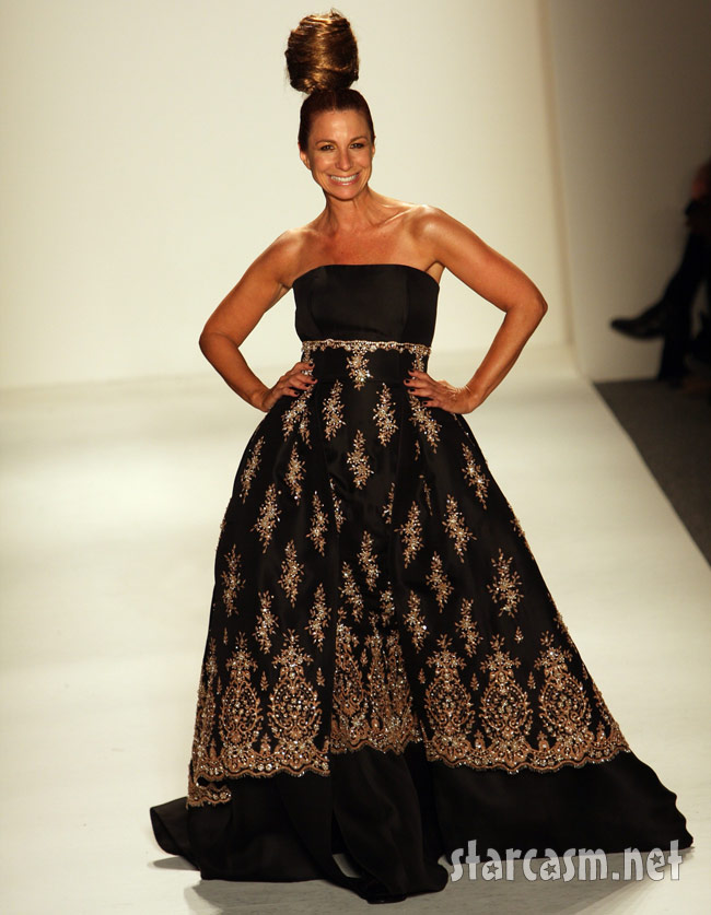 RHoNY Jill Zarin at New York Fashion Week 2011