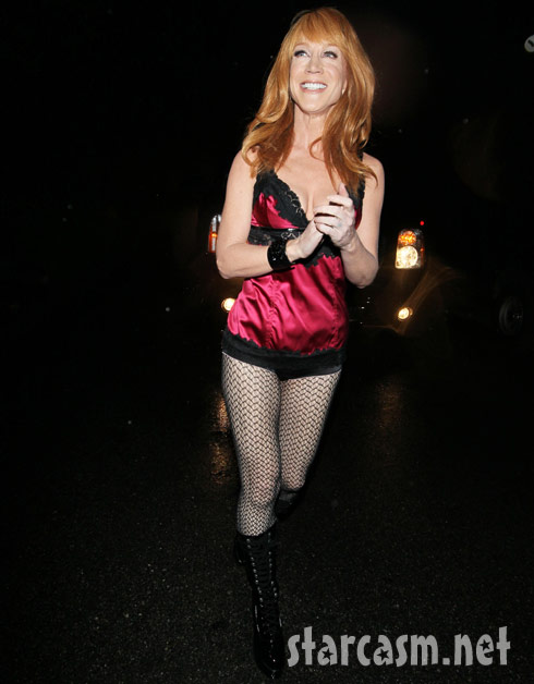 Kathy griffin in lingerie