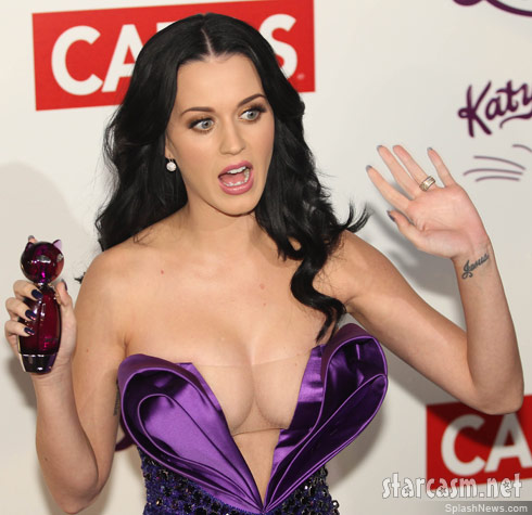 Katy perry cleavage consider, that