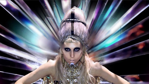 Lady Gaga as Mother Monster from the Born This Way music video