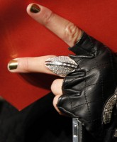 The Chanel glove Paris Hilton wore