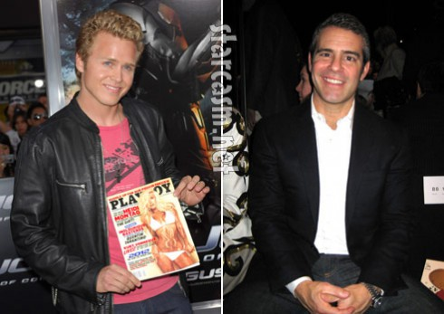 Spencer Pratt and Andy Cohen in a war of words