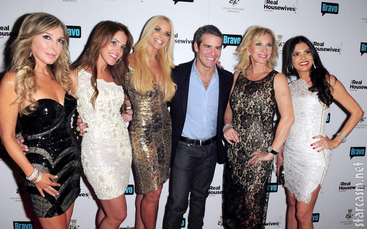 Real Housewives of Miami premiere party with Andy Cohen